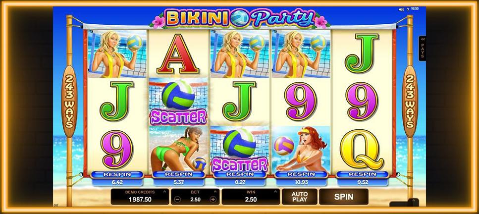 รีวิวเกมสล็อต Bikini Party