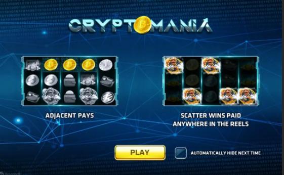 รีวิวเกมสล็อต Crypto Mania
